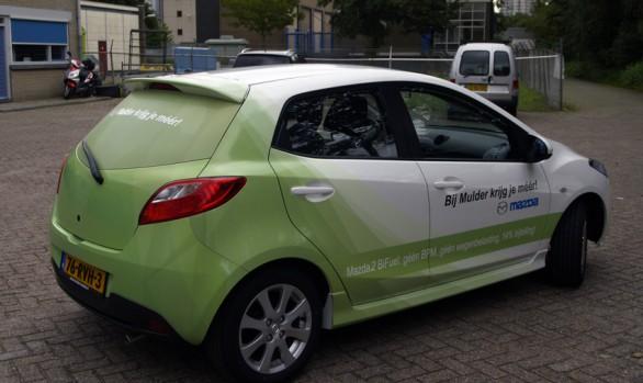 Mazda 2 BiFuel carwrap