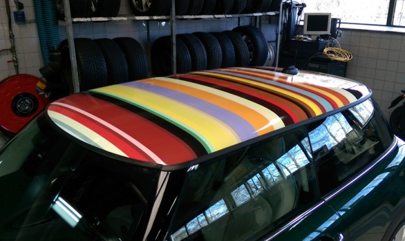 Paul Smith dakprint Mini Cooper