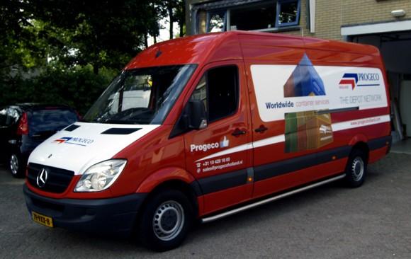Autobelettering Progeco Holland