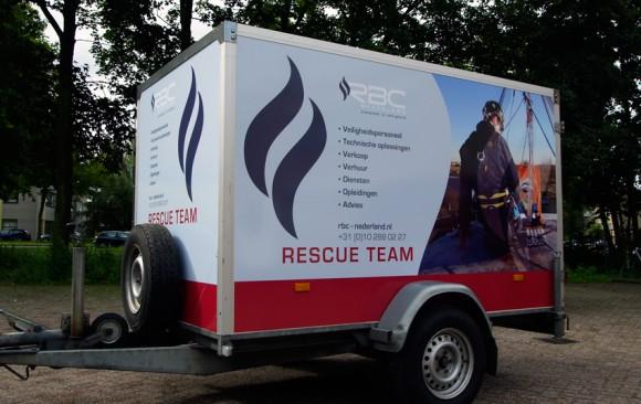 Aanhangwagen RBC Nederland