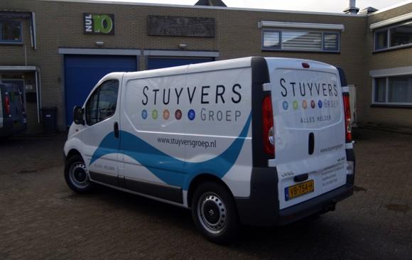 Autobelettering Stuyvers Groep
