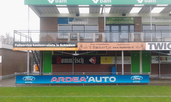 Sponsorbord Ford Ardea