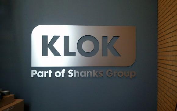 de Klok (RVS-look Dibond)