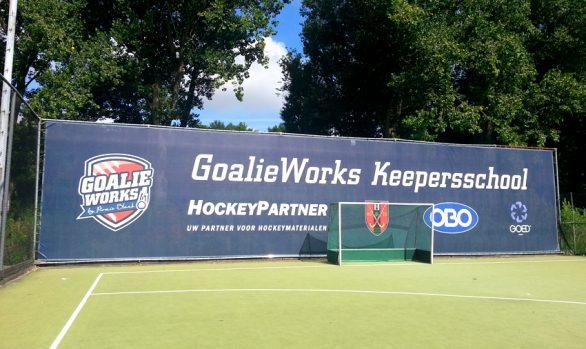 Mesh doek GoalieWorks