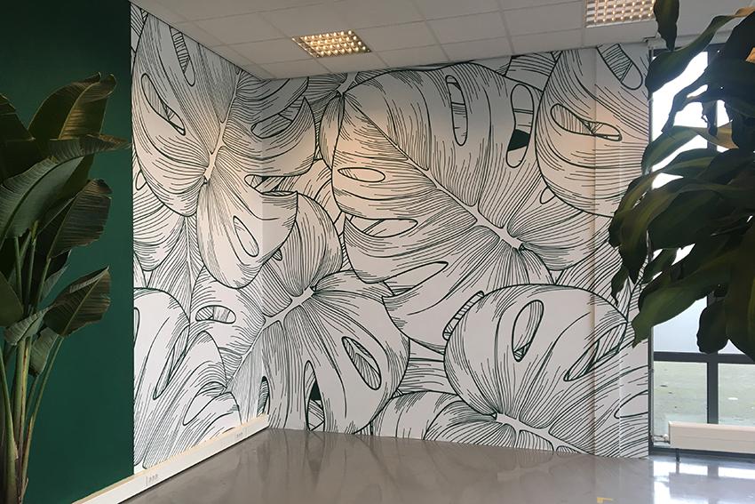 Behang Prints Opvallend : Behang en wallcovers op z n rotterdamst nul reclame