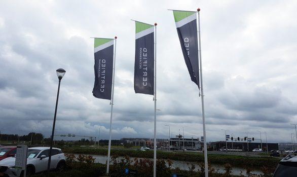 Banier vlag Mulder Mazda