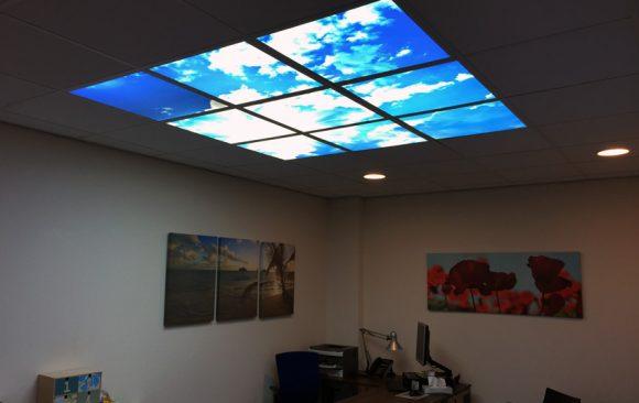 Medicina verlichte plafondplaten (wolken)
