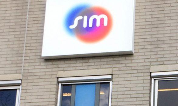 Sim Groep lichtbak