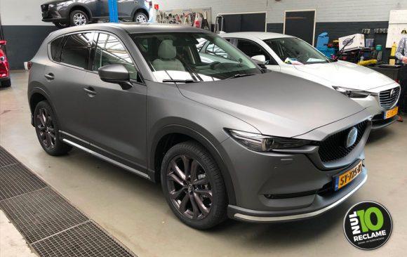 Mulder Mazda CX5 carwrap (matt metallic grey)