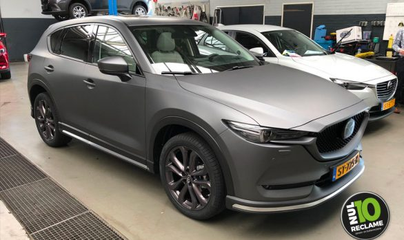 Mulder Mazda CX5 carwrap (matt metallic grey)