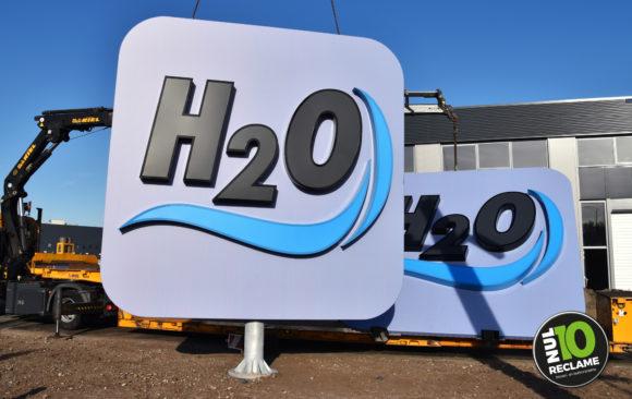 Autowas H2O Zoetermeer doeklichtbak doosletters