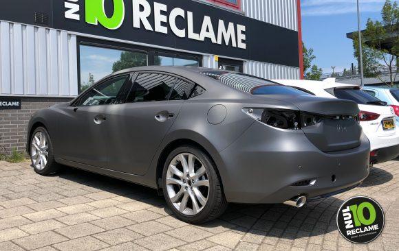 Mulder Mazda 6 carwrap (matt metallic grey)