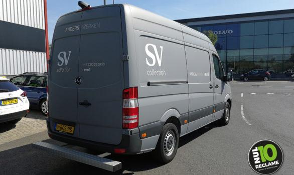SV Collection carwrap MB Sprinter (mat grijs)