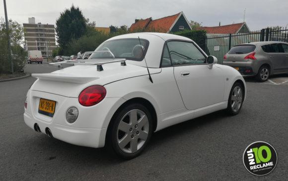 MissPublicity carwrap Daihatsu Copen (matwit)