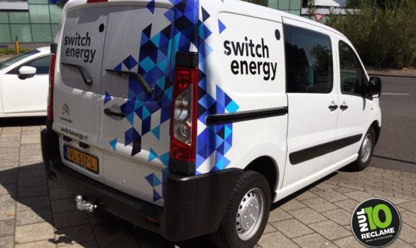 Switch Energy autobelettering Citroen Jumpy