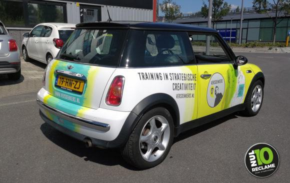 VersDenkers carwrap Mini Cooper (fullcolour)