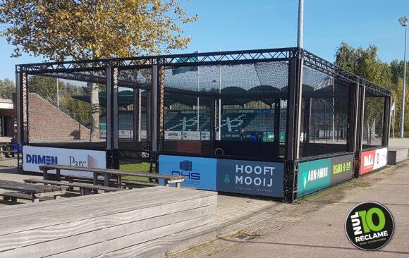 HC Rotterdam spandoeken / sponsordoeken pannakooi