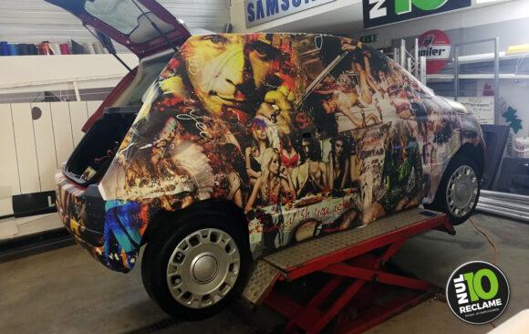 JacksArt / ArtShopRotterdam carwrap fullcolour (Fiat 500)